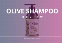 Review Shampoo Olive