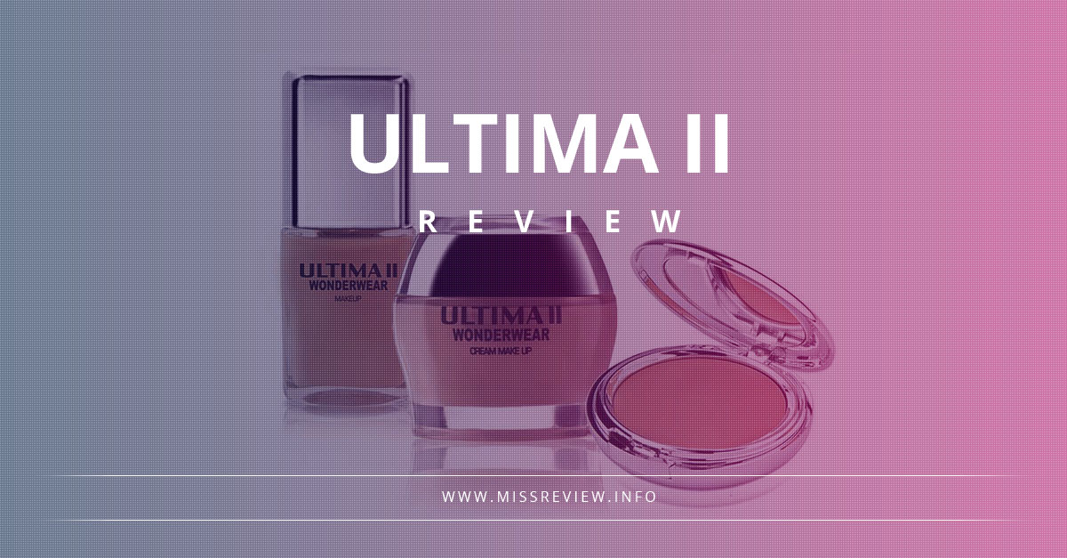 Review Bedak Ultima II Wonderwear dan Foundation