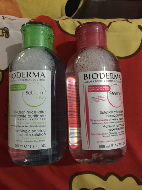review bioderma sensibio dan sebium