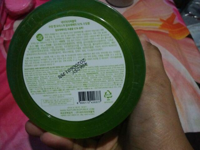 Nature Republic Aloe Vera Review Indonesia