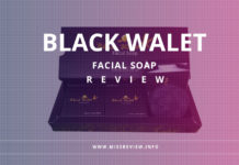 review sabun black walet