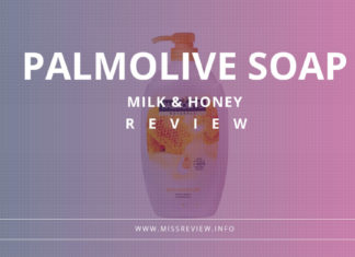 review sabun palmolive milk and honey