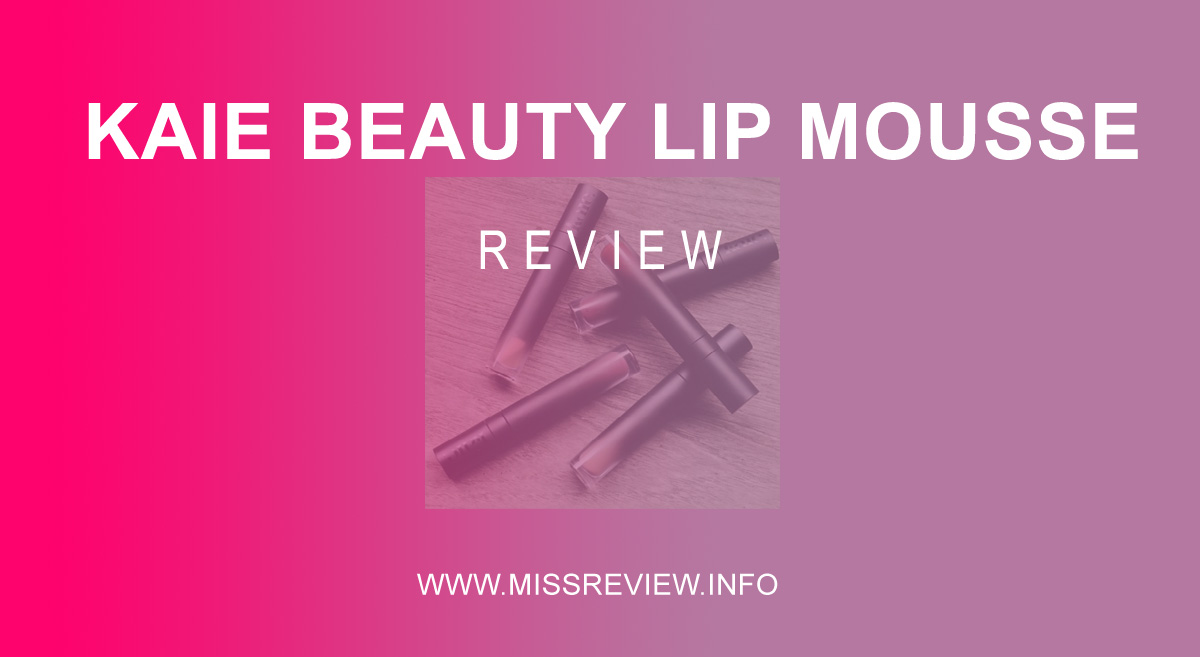 Review Kaie Beauty Lip Mousse dENGAN kONSEP cOOL