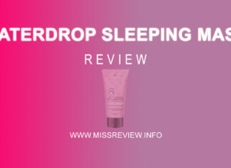 Review Viva Waterdrop Sleeping Mask