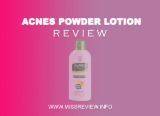 Review Acnes Powder Lotion